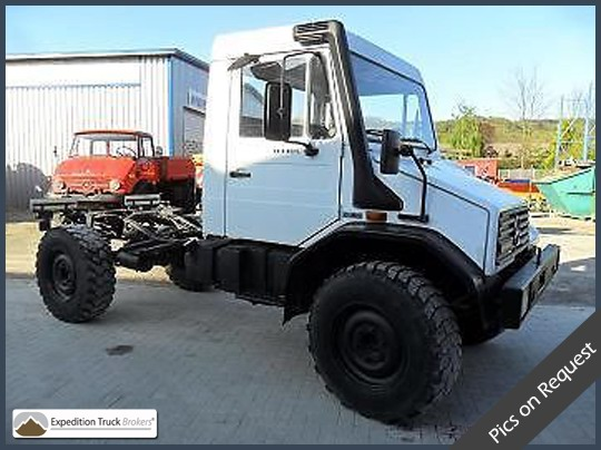 Unimog U140L 4x4 Expedition Truck Chassis