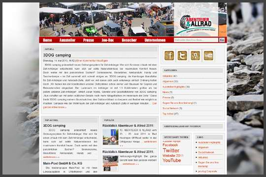 Abenteuer Allrad 2013 in Germany - Overland travel event