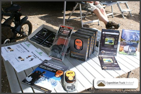 Expedition Truck Brokers stand at HUBBUK