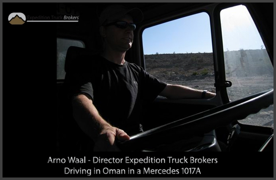 Expedition Truck Broker in a 1017A