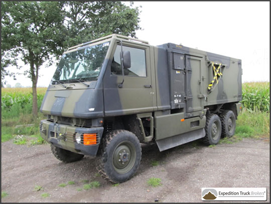 Mowag Bucher Duro 6x6 Expedition Truck Chassis