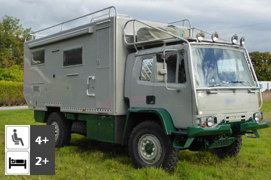 DAF 4x4 Expedition Camper Truck Conversion