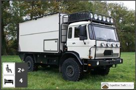DAF 4x4 Expedition Truck Conversion
