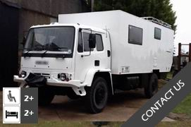 DAF T244 RHD 4x4 Expedition Truck Conversion