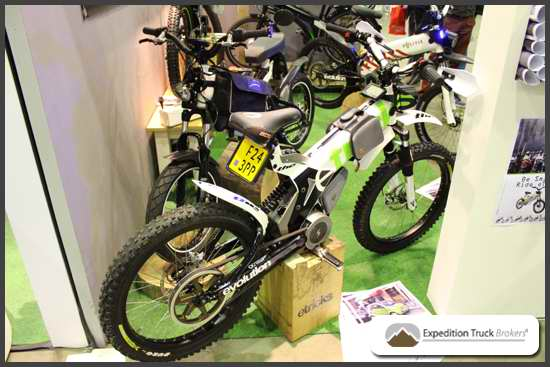 E-tricks electric bike - mountainbike with electric engine