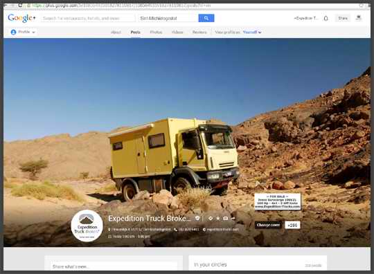 Expedition Truck Brokers on Google Plus