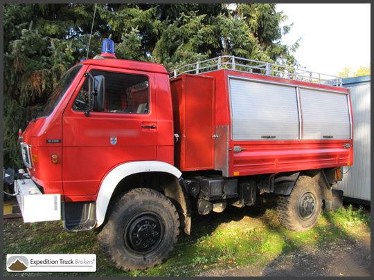 MAN 8.136 4x4 Expedition truck Chassis