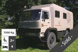 Unimog 1300 4x4 Expedition Truck