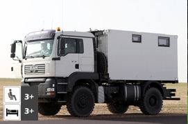 MAN TGA 18.430 4x4 Expedition Truck
