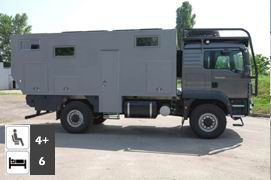 MAN TGM 4x4 Family Expedition Camper conversion