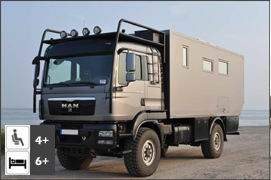 MAN TGM 13.290 4x4 Family Expedition Truck