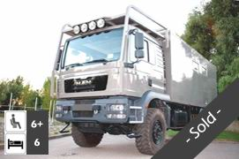 MAN TGM 18.340 4x4 Expedition Truck