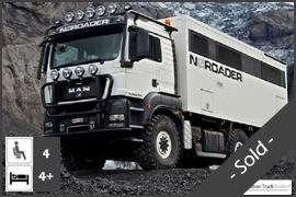 Luxurious MAN TGS 26.480 6x6 Expedition Truck