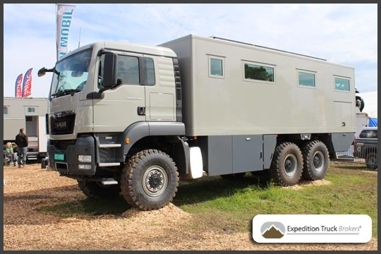 MAN TGS 26.540 6x6 Action Mobile Expedition Truck at Abenteuer Allrad 2013