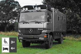 Mercedes Benz Actros 2035 4x4 Expedition Truck