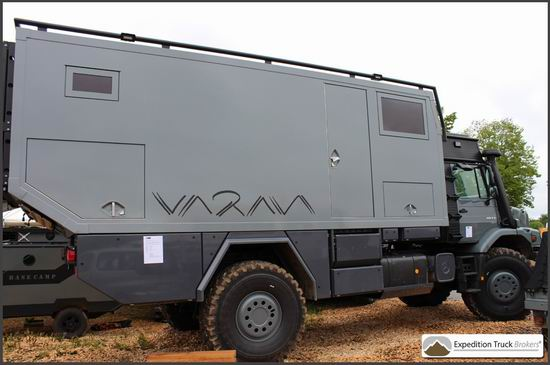 Abenteuer allrad overland vehicle exhibition expedition for Mercedes benz zetros 6x6 expedition vehicle