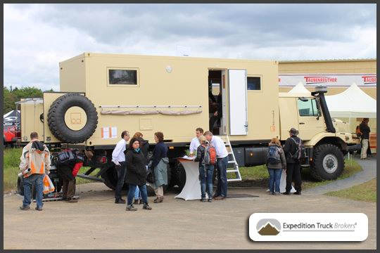 Mercedes Benz Zetros from Bliss Mobil at Abenteuer Allrad 2013