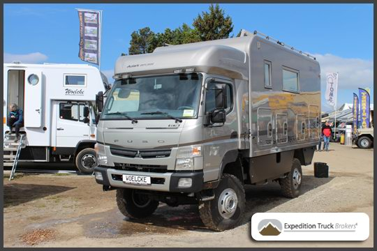 Mitsubishi Canter 6C18 Autark Explorer from Woelcke