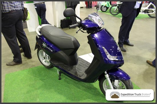 Peugeot-E-vivacity Electric Scooter