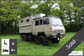 MAN TGM 13.240 4x4 Expedition Truck