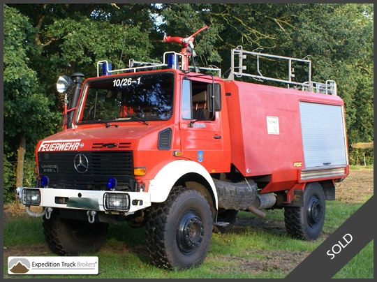Unimog U2150 4x4 Expedition Truck Chassis