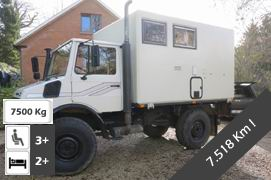Unimog 1250 4x4 Expedition Truck Conversion