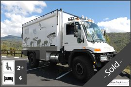 Unimog U500 4x4 Expedition Truck