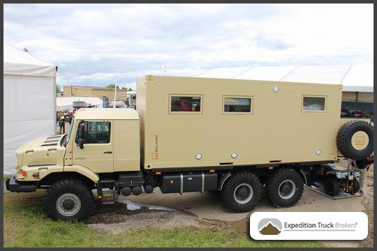 Mercedes Zetros from Bliss Mobile at Abenteuer Allrad 2013