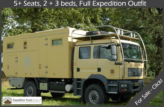 Expedition Truck Brokers | Serious Wheel Estate