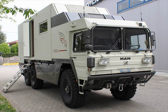 Man expedition vehicle vehicle ideas - Second hand mobile homes freedom in motion ...