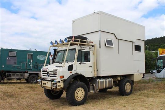 Unimog U2450 4x4 Expedition Truck Expedition Truck Brokers