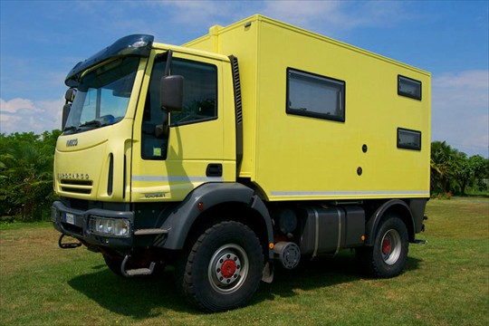 iveco eurocargo 100e21 camion camping car. Black Bedroom Furniture Sets. Home Design Ideas