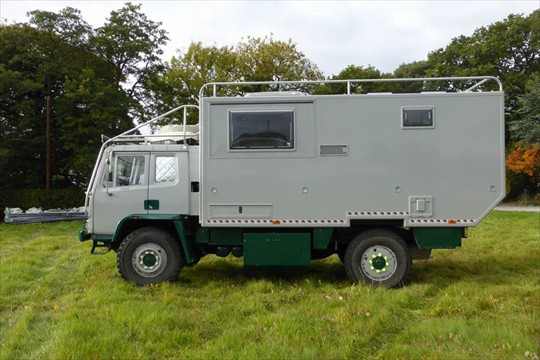 Military Campers For Sale >> DAF 4x4 Expedition Truck
