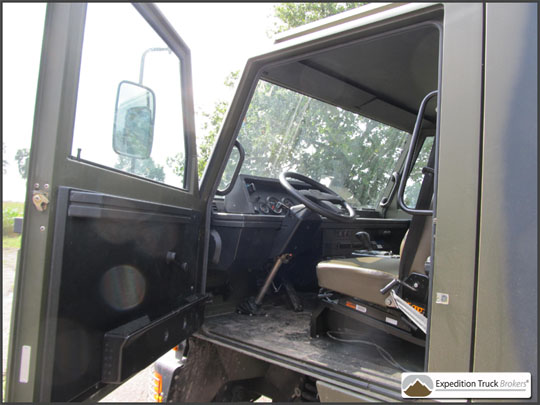 Bucher Duro 6x6 Expedition Truck Chassis | Expedition Truck Brokers