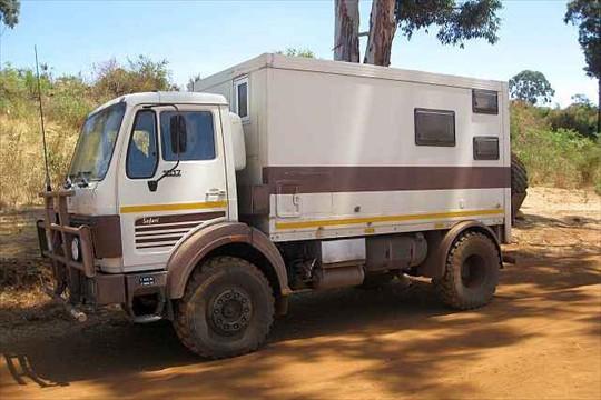 mercedes benz 1017A 4x4 camper truck | Expedition Truck Brokers