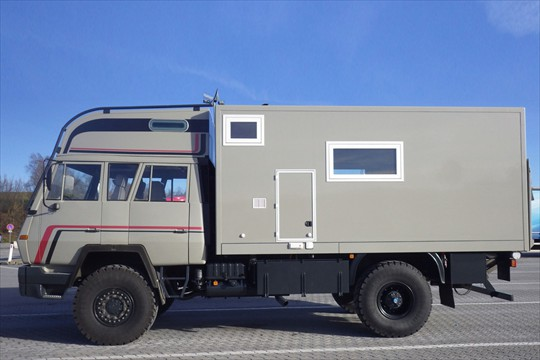 Steyr 4x4 Double Cabin Expedition Truck | Expedition Truck Brokers