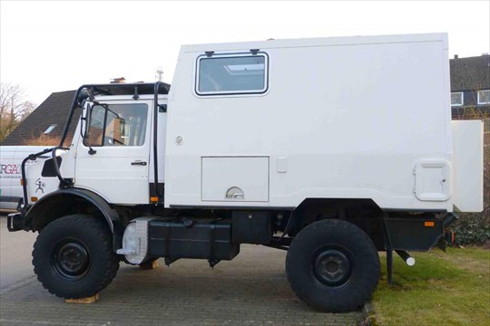 Unimog 240 Hp Expedition Camper Expedition Truck Brokers