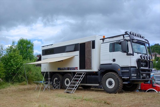 MAN TGS 26 480 6x6 Luxurious Expedition Truck | Expedition