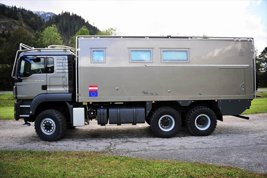 MAN TGS 26 480 6x6 Expedition Truck