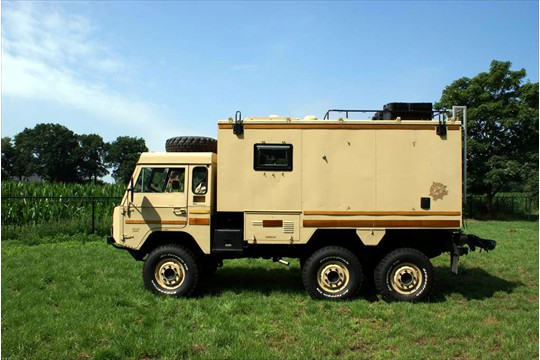 Volvo 6x6 Motorhome | Expedition Truck Brokers