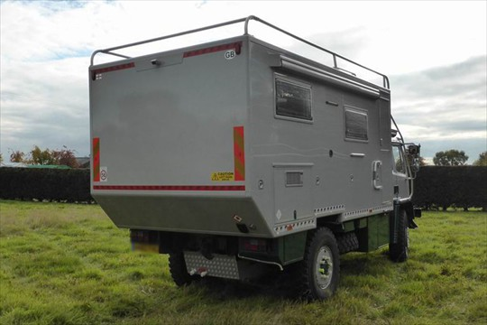 DAF 4x4 Expedition Camper Conversion | Expedition Truck Brokers