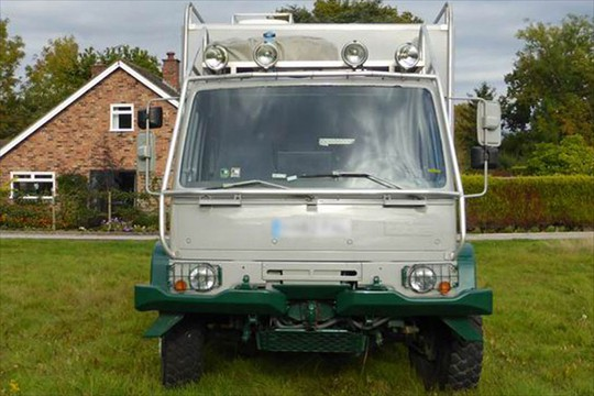 DAF 4x4 Expedition Camper Conversion   Expedition Truck Brokers