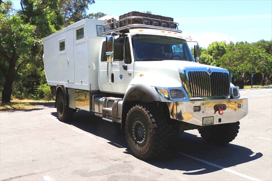 Unicat 4x4 Expedition Truck
