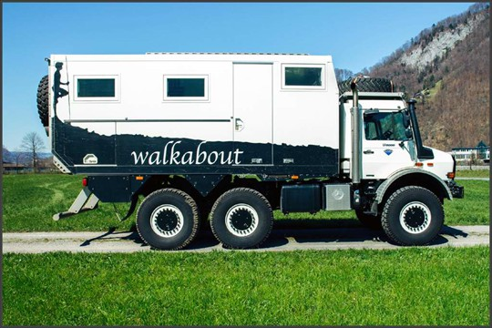 Unimog 6x6 Expedition Truck | Expedition Truck Brokers
