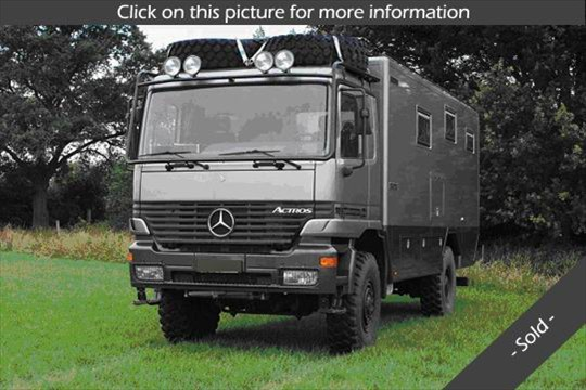 Camion camping car a vendre