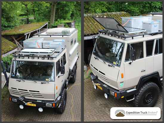 Steyr 1291 4x4 Truck History and Background | Expedition Truck Brokers