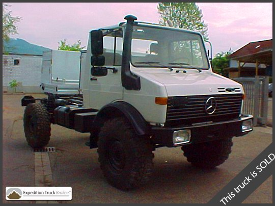 Unimog U1550 L37 Expedition Truck Chassis   Expedition Truck Brokers